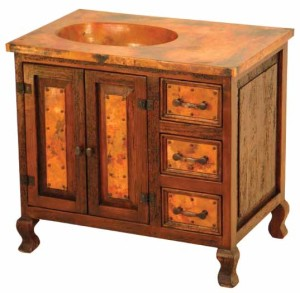 Add Classic Elegance with Rustic Bathroom Vanity